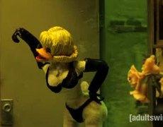 The dark side of Duck Tales robot chicken
