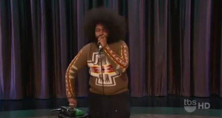 great beatbox by reggie watts on the conan show