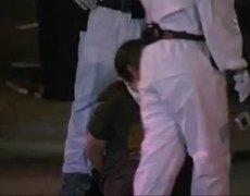 LA Police Raid Occupy Camp