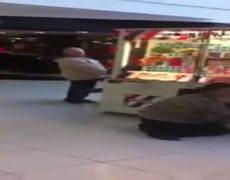 Woman Sticks Her Kid In a Vending Machine