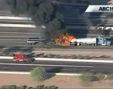 Tankers Collide, Explode in Phoenix