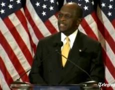 Herman Cain denies sex allegations