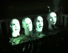 DIY Haunted Mansion Singing Busts