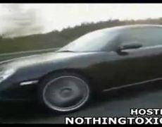 Street racer films own death