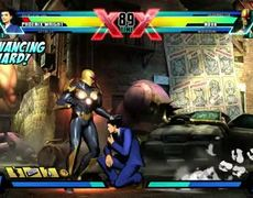 Phoenix Wright vs Nova - Gameplay Marvel vs Capcom 3