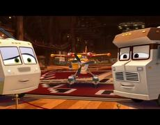 Planes Fire Rescue Official Movie CLIP First Kiss 2014 HD Disney Animated Sequel