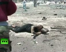 Video of deadly Somalia car bomb blast site, over 70 killed