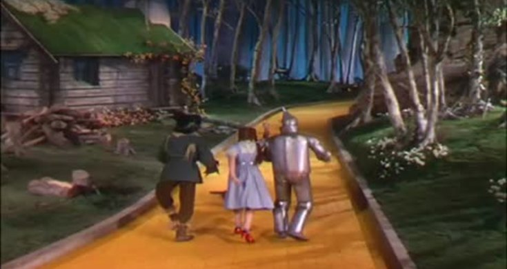 DVD Version Wizard of Oz,: Hanging Munchkin Clip (Edited