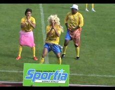 Goal celebration - Waka waka