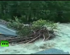 Irene Isolates: Vermont, New Jersey towns cut off by washed-out bridges