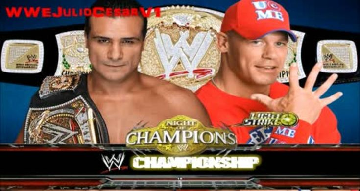 Alberto del rio vs john cena wwe night of champions 2011 match card videos metatube - Night of champions 2010 match card ...
