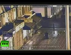 CCTV video shows 'attempted police murder' during London riots