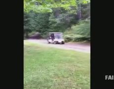 Golf Cart Fail Compilation