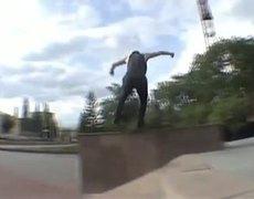 Nasty Skateboard Fall