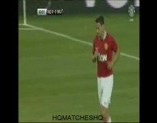 New England Revolution Vs Manchester United 0-1 Michael Owens Goals 13-7-2011