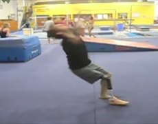 Man Loses Leg To Cancer, Recovers, Does Backflips