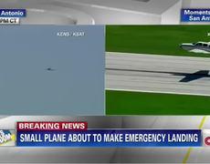 Breaking News Emergency landing without landing gear