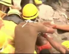 Rescues 3 Days After India Collapse