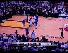 LeBron James, Jason Kidd Checking Out A Girl
