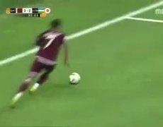 Horrible miss in soccer