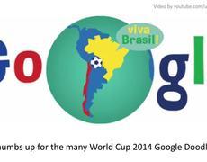 Google Doodle Brazil vs Chile World Cup 2014