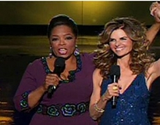 Oprah and Maria - The Televised Shot At Arnold