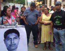 Ayotzinapa Sino aparecen lo que sigue es un movimiento armado Padres de normalistas desaparecidos