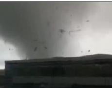 Raw Video: New Zealand Tornado Caught on Tape
