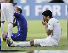 OMG Biting Incident Mars Uruguay World Cup Win