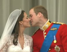 The first Royal kiss