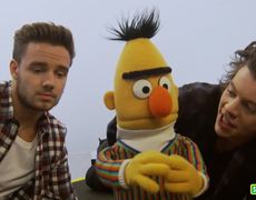 One Direction and Bert Sing the Alphabet Sesame Street