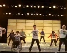 Glee Cast - Born This Way - 2x18 - Full Performance - Official Music Video