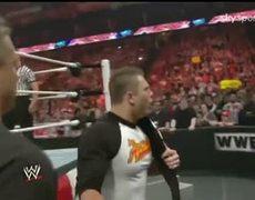 Sin Cara & John Cena vs The Miz & Alex Riley [Raw 4/18/11]