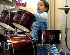 2 Year old drummer sensation