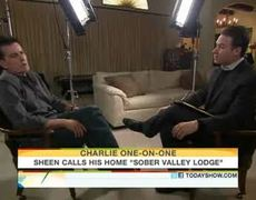 Sheen's Live Interview On The Today Show