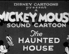 Mickey Mouse Haunted House Cartoon (1929)