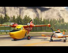Planes Fire Rescue Drop the Needle Official Clip 2014 HD
