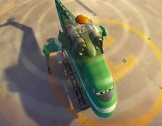 Planes Fire Rescue Official Movie CLIP Drop The Needle 2014 HD Disney Sequel