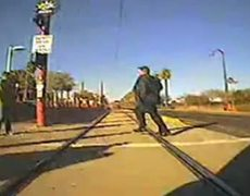 Train Hits Pedestrian in Phoenix