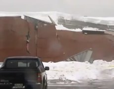 Building Collapses Under Heavy Snow