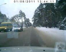 Slow Down, Slippery Winter Roads