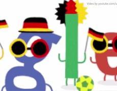 Google Doodle Deutschland vs Portugal World Cup Brazil 2014