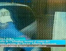 Presunto asesino del Dr. Betancourt