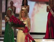 Miss America 2011 Teresa Scanlan's crowning moment