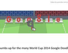 Google Doodle Uruguay vs Costa Rica 13 World Cup 2014