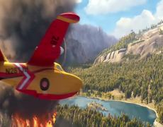 Planes Fire Rescue Official Movie CLIP Brad Paisleys All In First Listen 2014 HD Disney Sequel