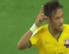 Brazil vs Croatia 11 2014 Neymar goal FIFA World Cup 2014 Brazil