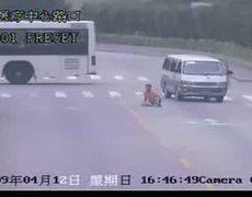 Terrible accidente automovilístico