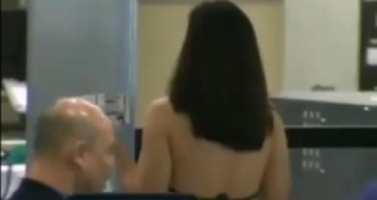 mujer luna bella se desnuda en metro de monterrey hombres desnudo en el gym