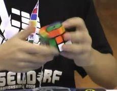 Rubik's cube official world record 6.77 seconds Feliks Zemdegs